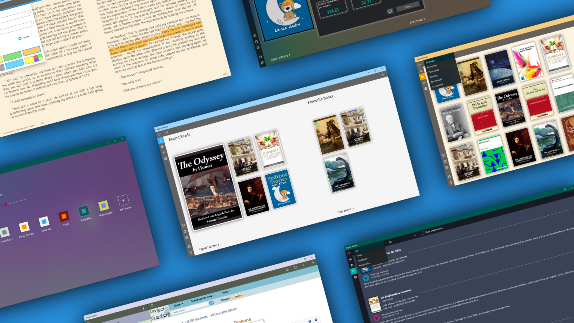 Preview image for Aquile Reader